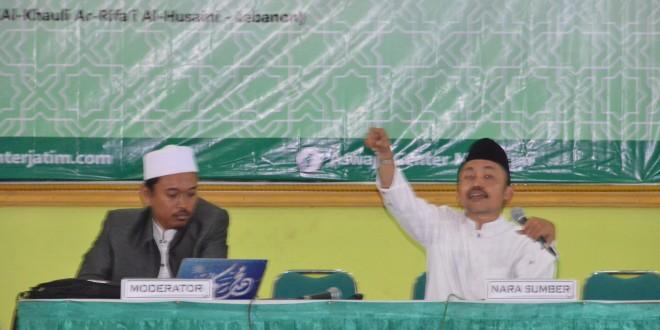 Ustadz Idrus Ramli: Tokoh Agama Harus Sering Menyapa Umat