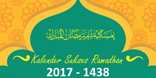 Kalender Ramadhan Kota-Kota Besar Indonesia.